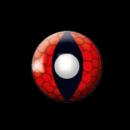 Eye lenses - Red Dragon - 12 month