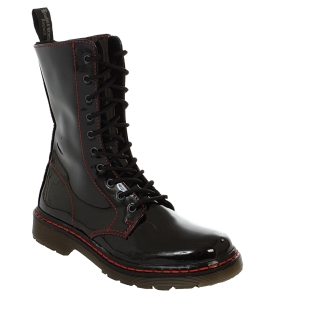 B&B 10 Holes bloody Patent Boot