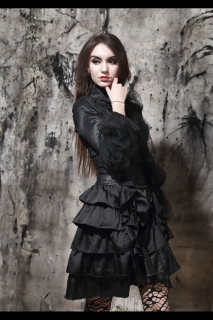 Victorian Gothic Blouse blk