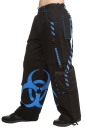 Biohazard Pants Blue