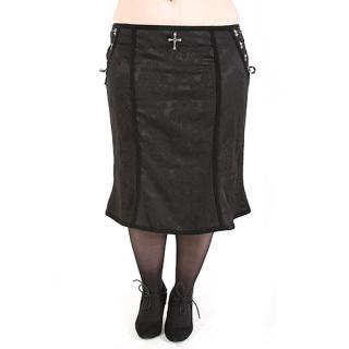 Rubiness Noble Skirt Denim Black