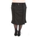 Rubiness Noble Skirt Denim Black