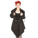 Rubiness Victorian Coat Denim Black