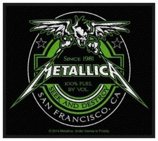 Metallica Beer Label