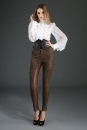 Ladies Skinny Pants brown