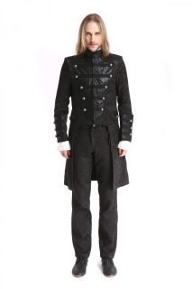 Brocade Military Tail Coat
