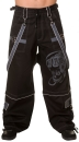Biohazard Gamer Baggy Pants Grey