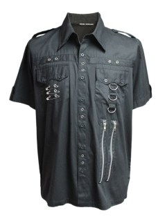 Triple Safety Pin Men´s Shirt