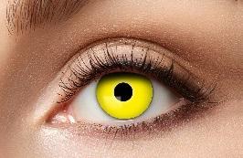 Kontaktlinsen Yellow Crow - 12 month - 1 Paar