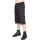 Chain Short Pants Denim (Black)