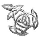 Knoten Dreifaltigkeit Anhänger Silber