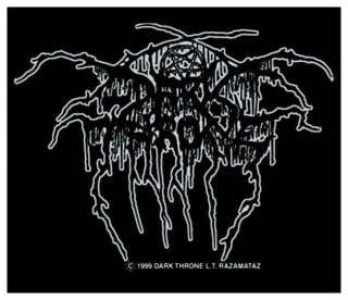 Darkthrone Logo Silber
