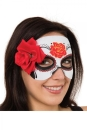 Day Of Dead Rose Mask