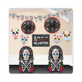 Deko-Set Day of the Dead 10-teilig