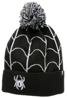 Spider & Web Knit Hat - one size