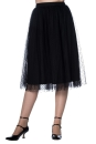 Timea Tule Skirt black