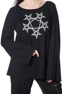 Pentragram Oversized Top