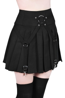 Vicious Vibes Mini Skirt