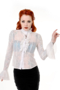 Gothic Key Lace Shirt white