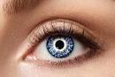 Kontaktlinsen Natural / Mehrton Blue 1 Paar