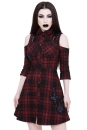 Paranormal Shirt Dress Tartan