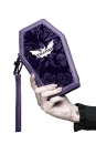 Vampire´s Kiss Clutch Plum
