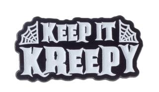Keep It Kreepy Enamel Pin