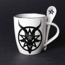 Baphomet Magic Mug & Spoon Set