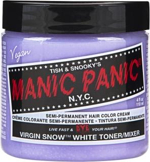 "Manic Panic® Basic Hair Dye Color ""Virgin Snow"" 118ml"