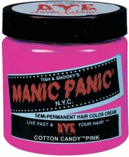 "Manic Panic® Basic Hair Dye Color ""Cotton Candy Pink"" 118ml"