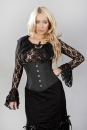 Sophisticated Underbust Black Tafetta