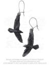 Raven Earring Left Earring - 1 Stück