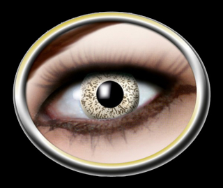 Kontaktlinsen Golden Sparkle 1 Paar