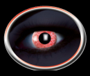 Kontaktlinsen Diamond UV Red 1 Paar
