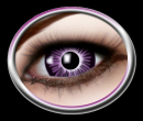 Kontaktlinsen Big Eye Purple 1 Paar