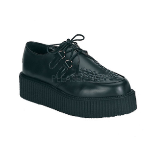 Creeper 402 Black Leather