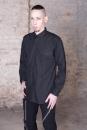 Armyhemd langarm schwarz